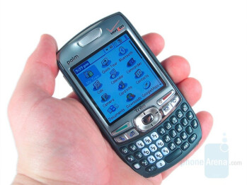 Smartphones like the HTC TyTN II (L) and the Palm Treo 755p (R) featured designs that were all too typical for the mid-2000s. They were largely bulky looking and constructed from plastic.