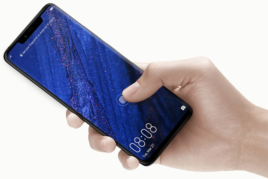The Mate 20 Pro also uses an in-screen fingerprint scanner - In-screen fingerprint scanners are not good enough yet