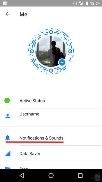 So deaktivieren Sie die Benachrichtigungstöne für Facebook Messenger (Android, iOS)