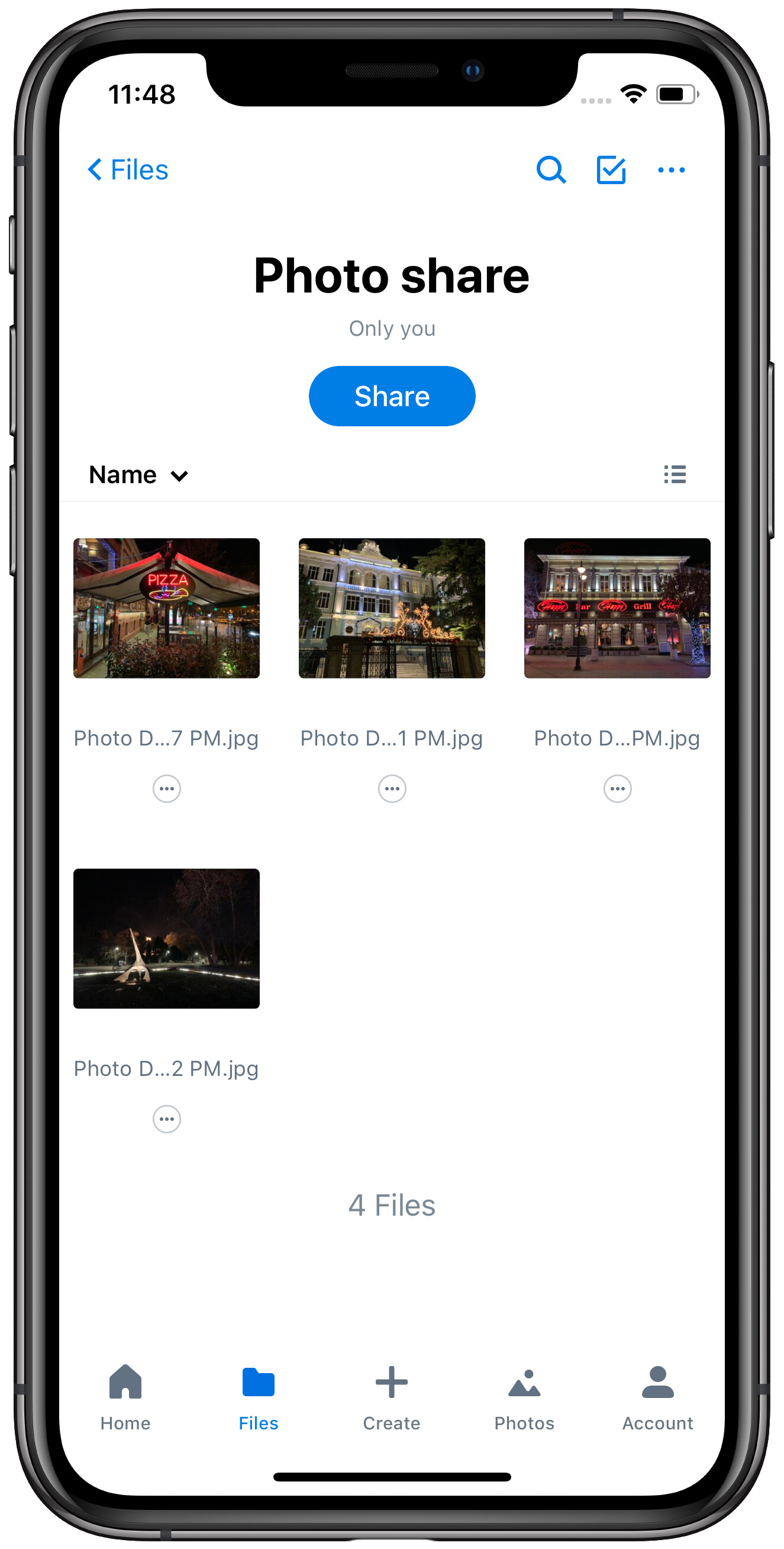 How to send photos and videos from an iPhone to an Android