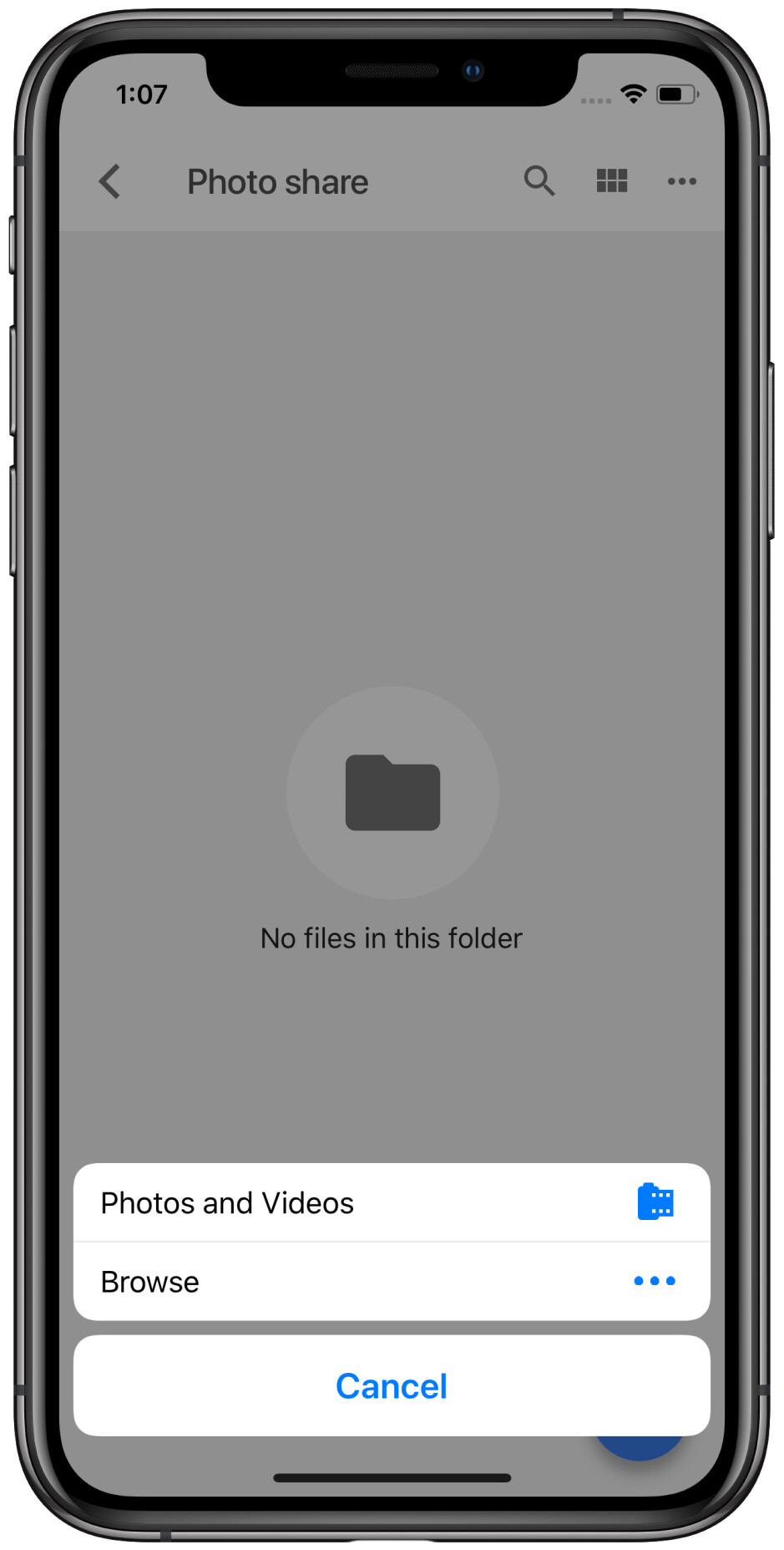 How to send photos and videos from an iPhone to an Android phone