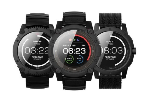 Matrix PowerWatch 2 combines body heat and solar energy to power a color display