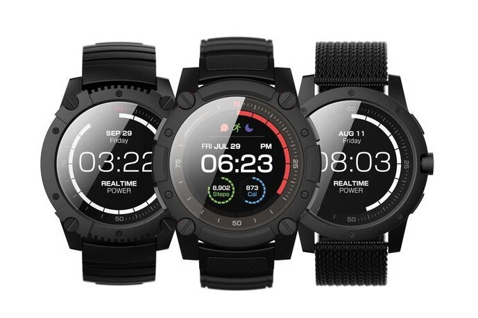 Matrix powerwatch 2 combines body heat and solar energy to power a color display phonearena for Matrix powerwatch