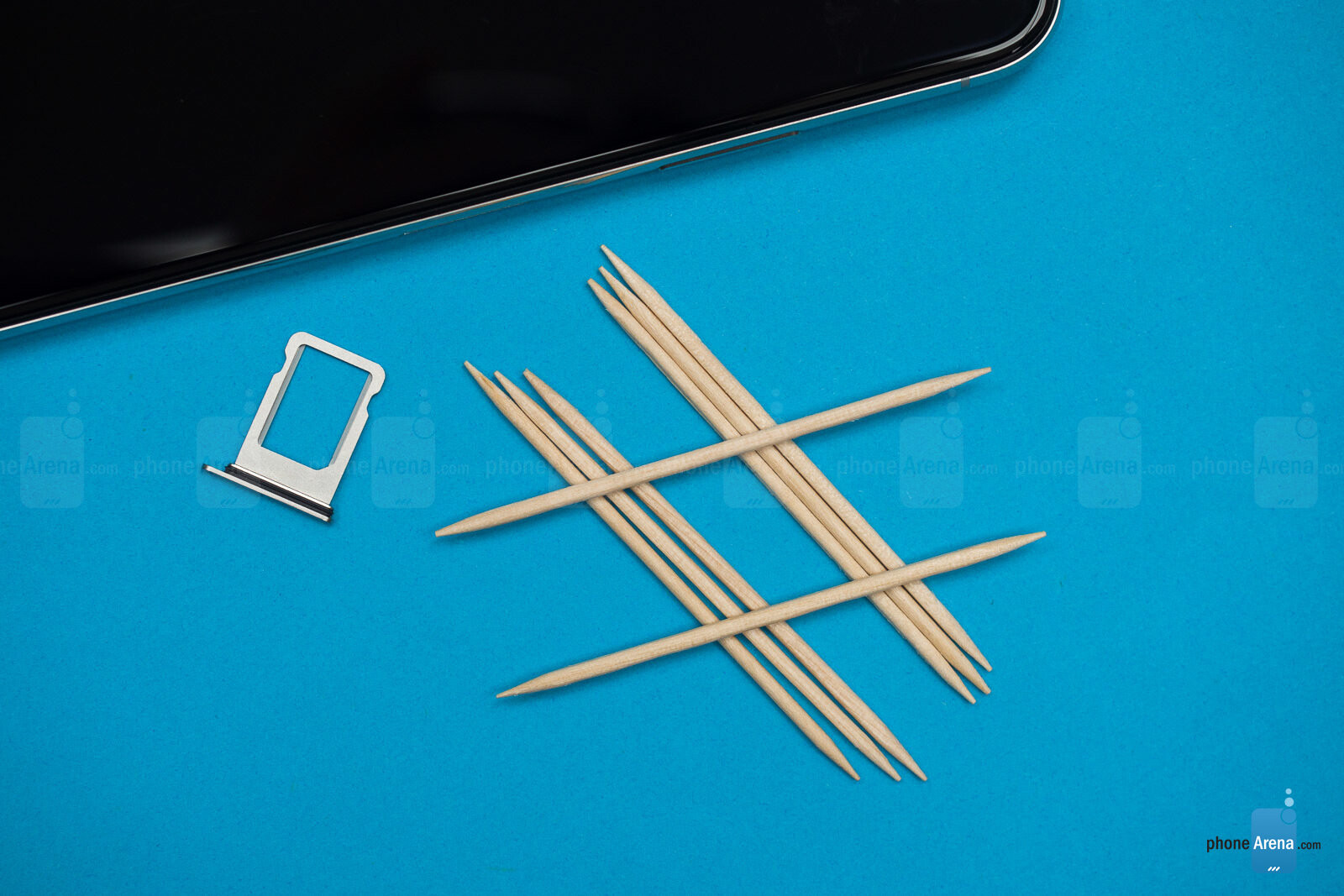 How to open a SIM card tray when an ejector tool isn't around (the