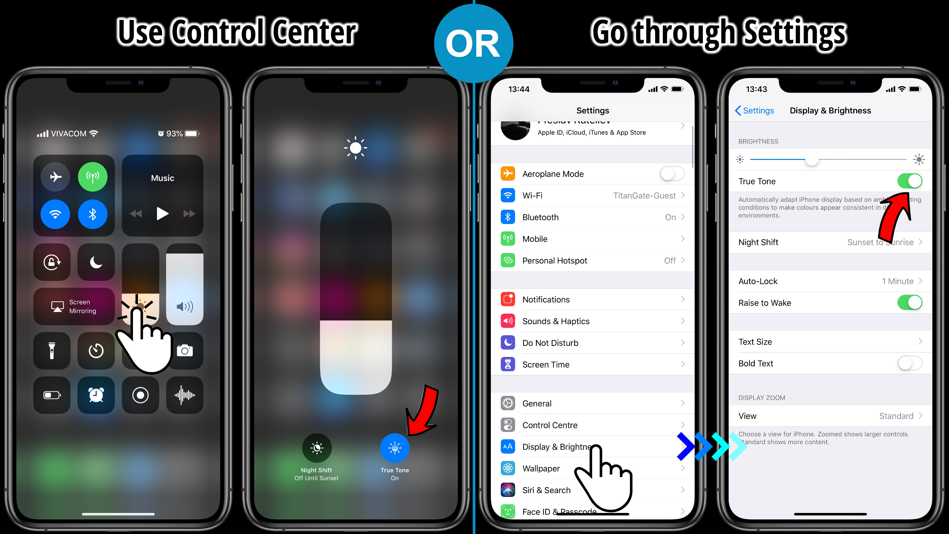 huge selection of 7ab2d acf59 iPhone XS True Tone: how to get rid of the yellow hue - PhoneArena