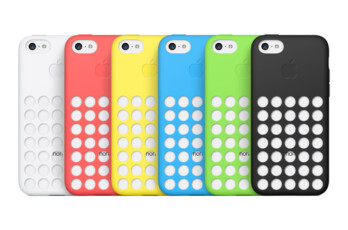 The original perforated case for iPhone 5C