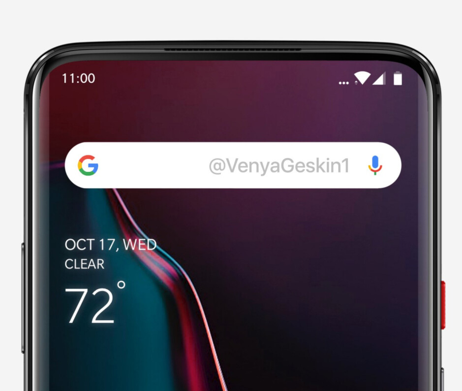 Notchless, bezelless OnePlus 7 with sliding mechanism visualized in hot new renders