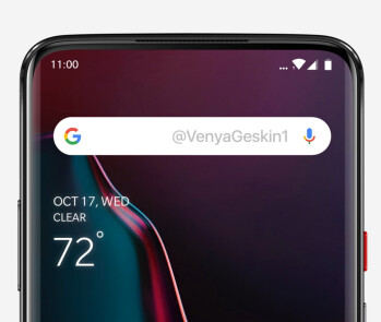 OnePlus 7 is rumored to feature a slider design, Concept render by @VenyaGeskin1