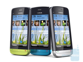 Nokia C5-03 will come in a variety of colors