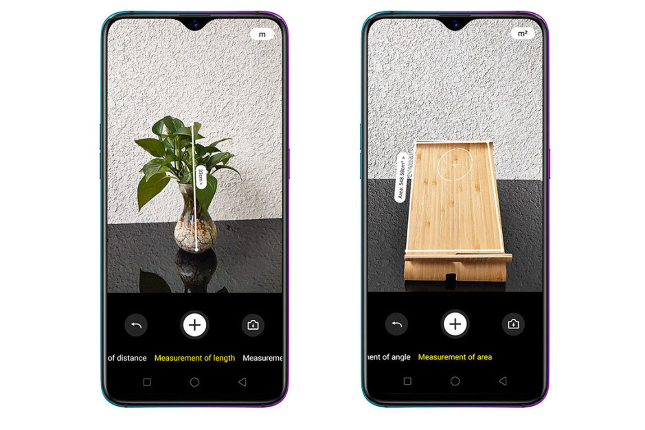 This AR measure app created for a ToF camera is an application showcase - The best new phone features to go mainstream in 2019