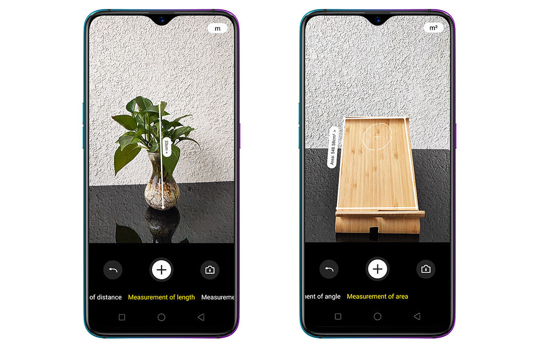 db0a9dfcd4c This AR measure app created for a ToF camera is an application showcase