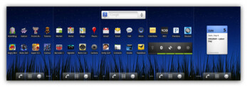 This is supposedly an un-altered stock Android OS
