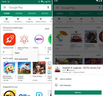 update google play store 2019