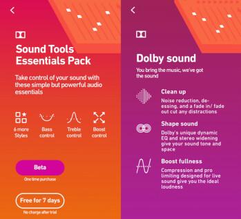 """Dolbys """"234"""" -App ermöglicht es Musikern, Musik in Studioqualität auf einem Telefon aufzunehmen"""