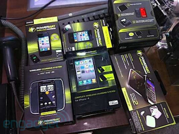 Powermat for Apple iPhone and HTC EVO 4G arrives at Best Buy