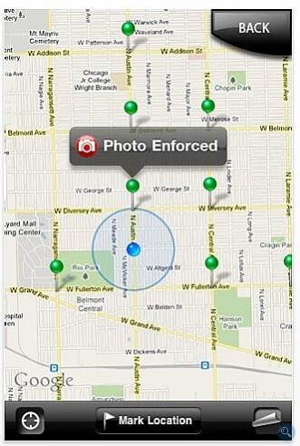 Cobra's iRadar integrates radar detection with the iPhone