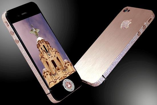 Diamond-encrusted iPhone costs US$8 million