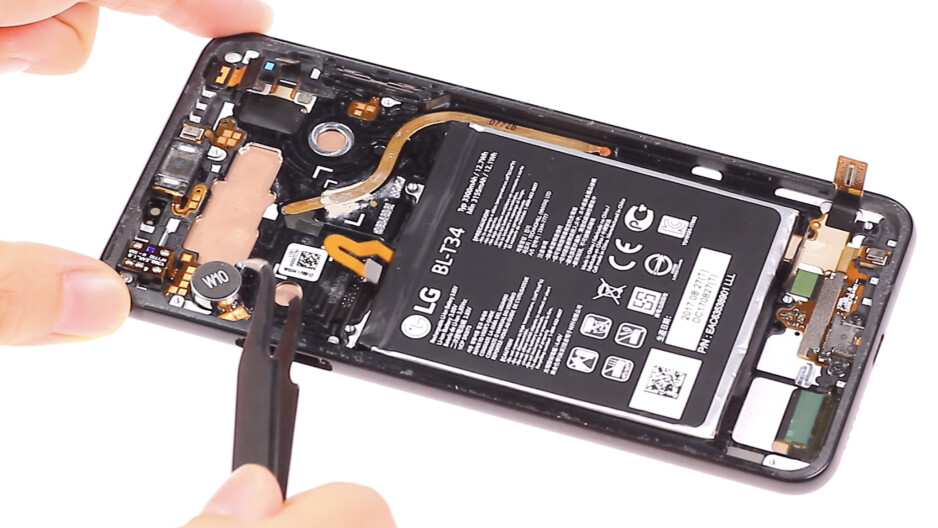 LG V30 vibration repair guide, by Wit Rigs - I wish more Android manufacturers would take vibration seriously