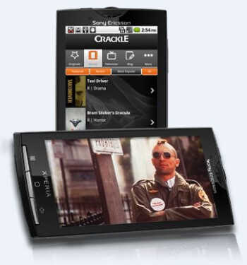 Crackle offers streaming video app for Android
