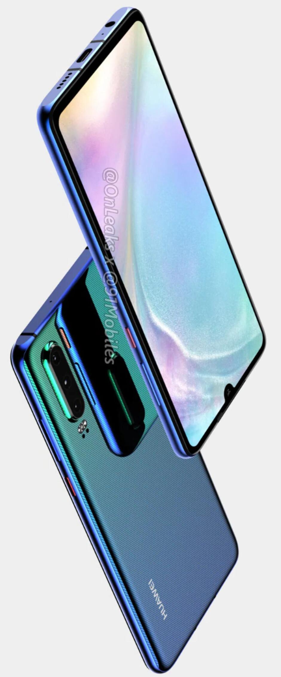 Huawei P30 series leak: big displays, impressive cameras, lots of RAM