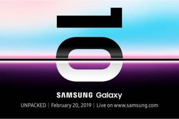 Samsung Galaxy S10 / S10 + / S10e duyurusu