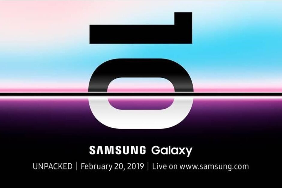 Samsung's invitational teaser for the Galaxy S10/S10+/S10e announcement event - Galaxy S10, S10+ and S10e release date, price, news and leaks