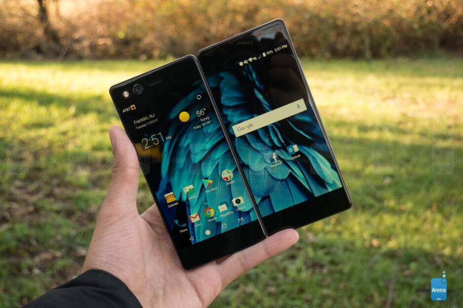 The last mass market foldable smartphone was the ZTE Axon M released not long ago in 2017. Unfortunately, the software wasn't optimized enough to fully take advantage of the larger real-estate of the screen when it was opened up. - Quirky foldable phones you probably forgot about