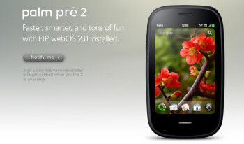 The Palm Pre 2 now has a 1GHz chip under the hood