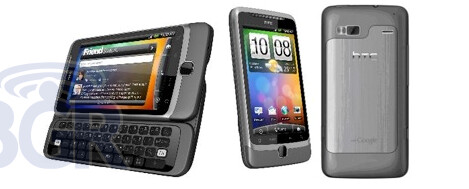 BlackBerry Bold 9780 (L), HTC Desire Z (R) - Bell Mobility to launch BlackBerry Bold 9780 and HTC Desire Z over two consecutive days in November