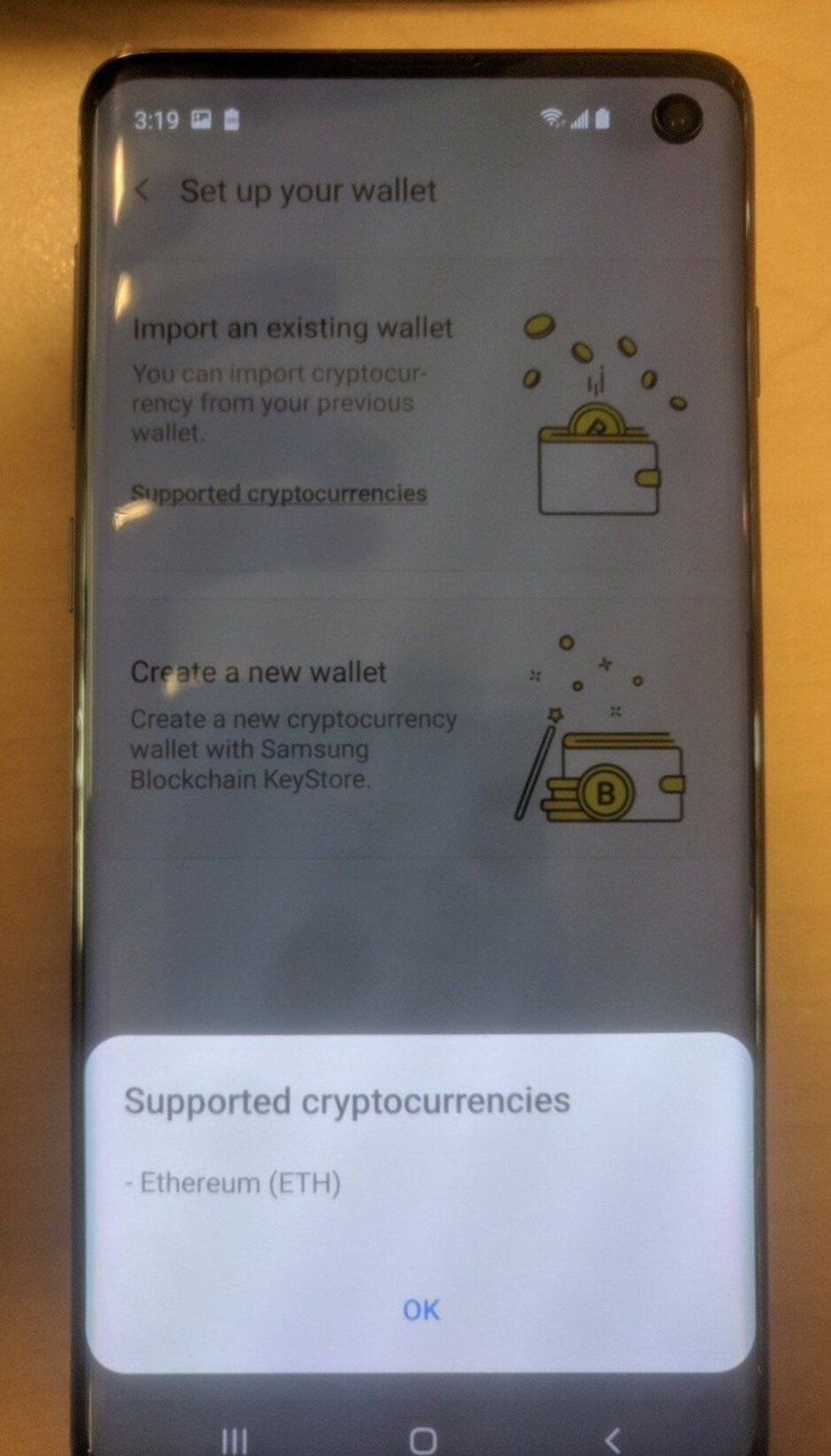 Samsung tipped to launch cryptocurrency wallet system with Galaxy S10