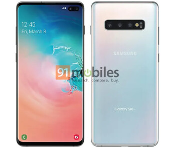 """""""Official"""" Samsung Galaxy S10+ renders leak out and may confirm a release date"""
