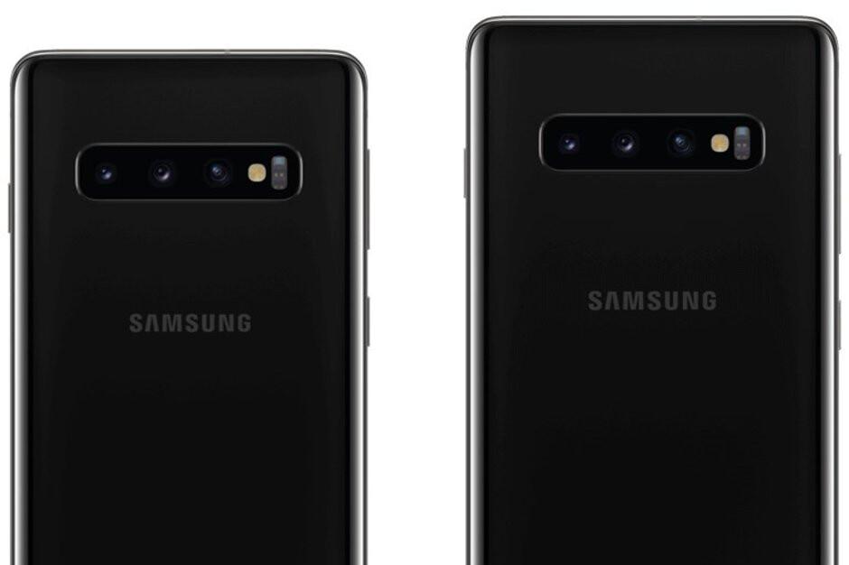 Samsung Galaxy S10 & S10+ press renders - Samsung Galaxy S10 & Galaxy S10+ press renders show off launch colors
