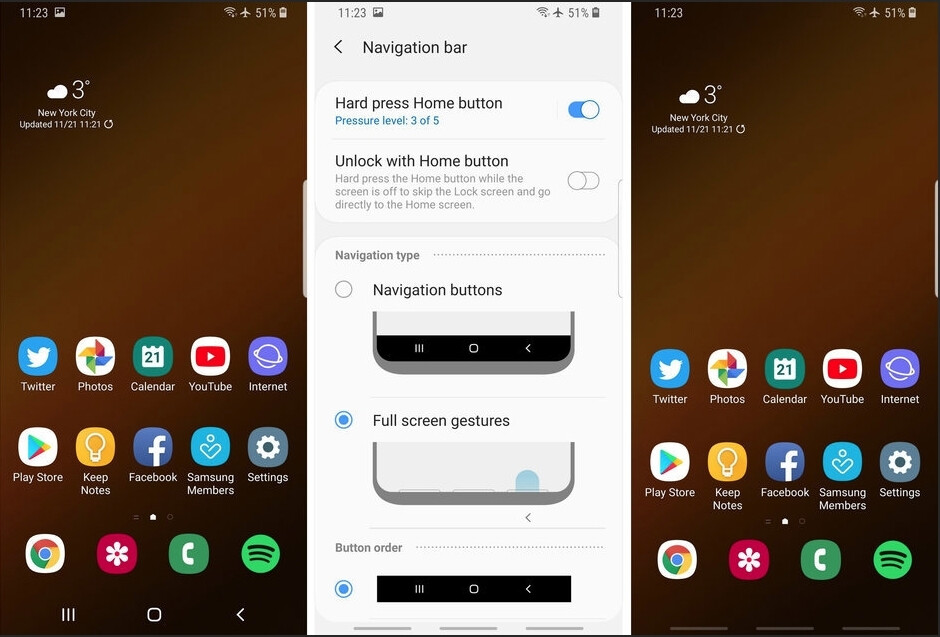 One UI carries a trendy gesture navigation options - Are you liking Samsung's new One UI that came to your Verizon/AT&T Galaxy S9?