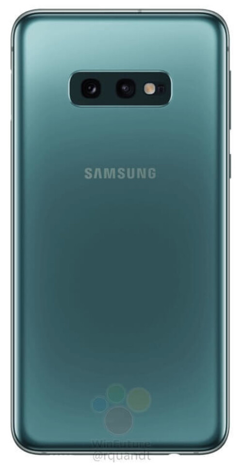 Samsung Galaxy S10e rear