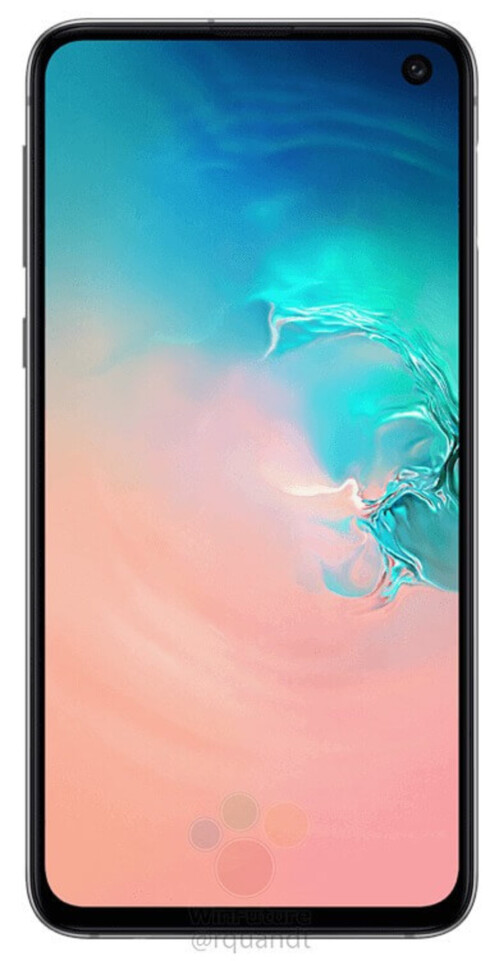 Samsung Galaxy S10e Infinity-O display