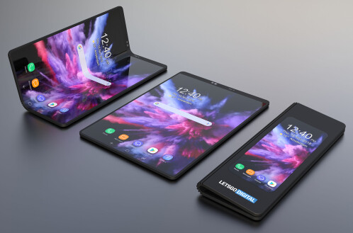 Samsung flexible phone concept images