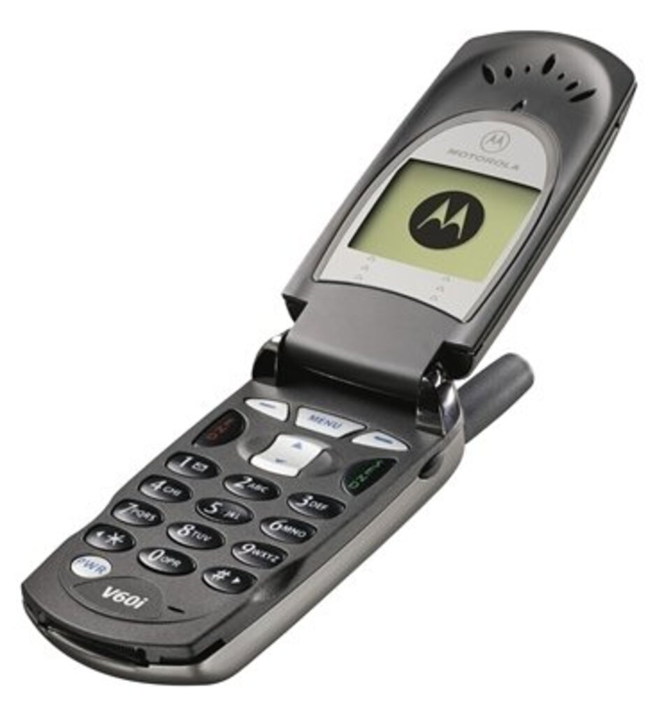 Before the RAZR's success, the Motorola V60 was a big hit with consumers during the early 2000s. - These were the classic flip phones that everyone used (and we miss them)