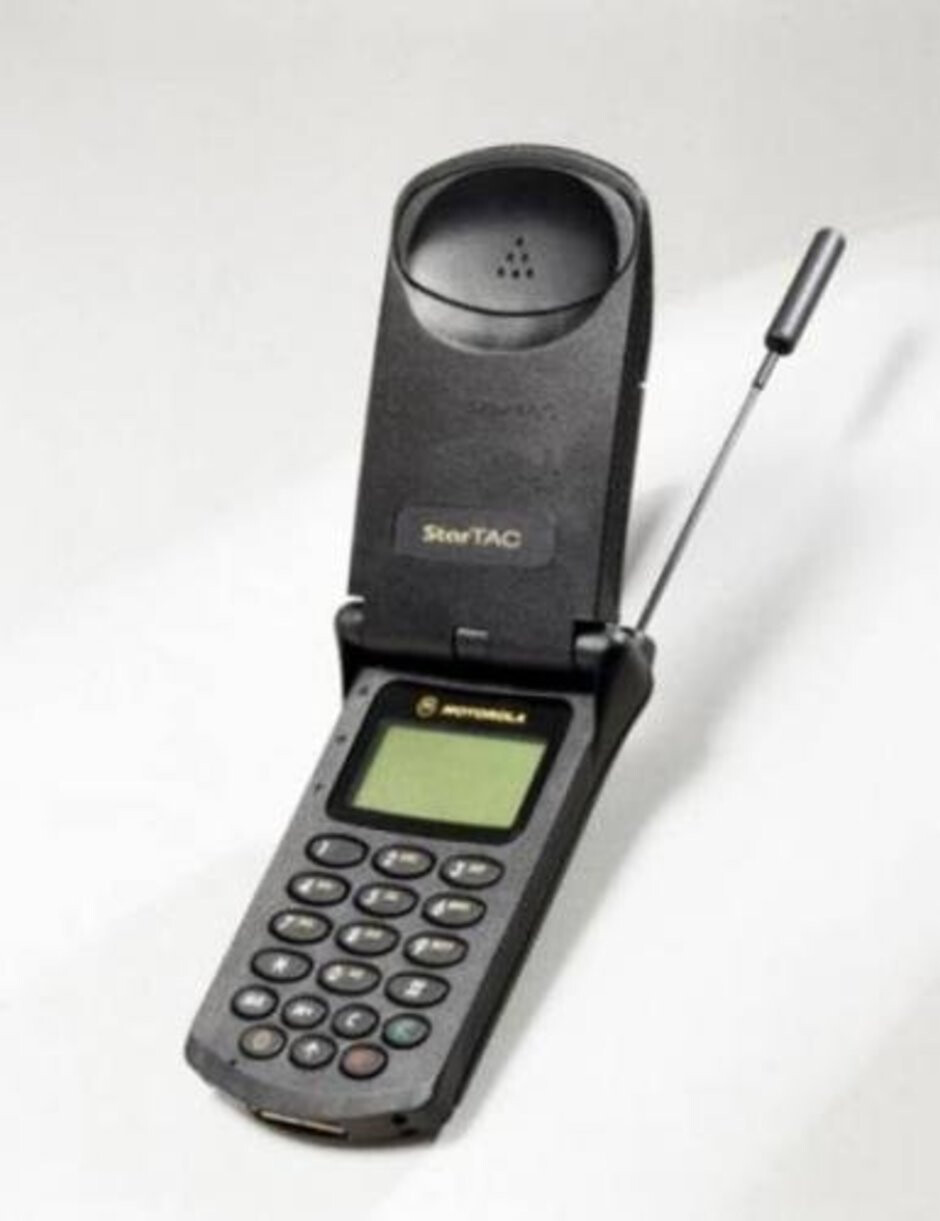 Another widely popular classic flip phone from Motorola came during the mid-1990s with the release of the StarTac. - These were the classic flip phones that everyone used (and we miss them)