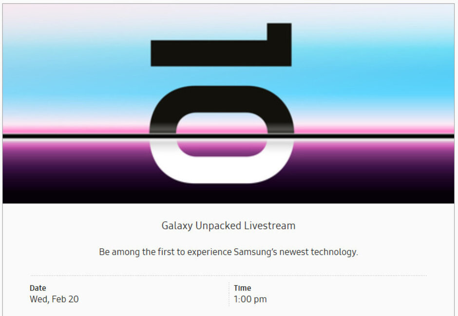 Want to check out Samsung's new flagships right after they're announced? Go to the Samsung 837 site and RSVP to attend the livestream - Try out the Samsung Galaxy S10, Galaxy S10+ minutes after they are unveiled