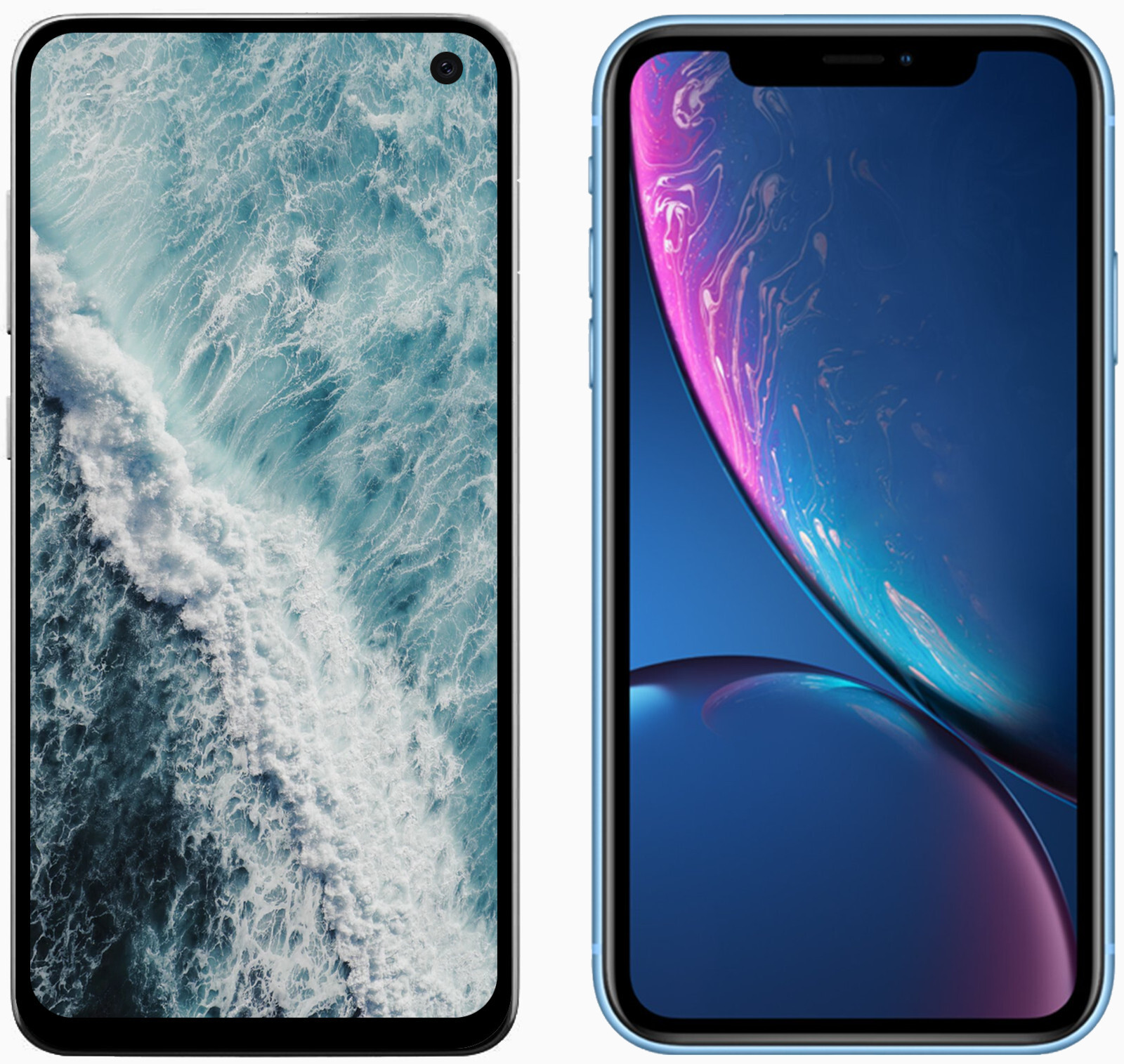 Galaxy S10E vs iPhone XR preview, the art of the 'affordable