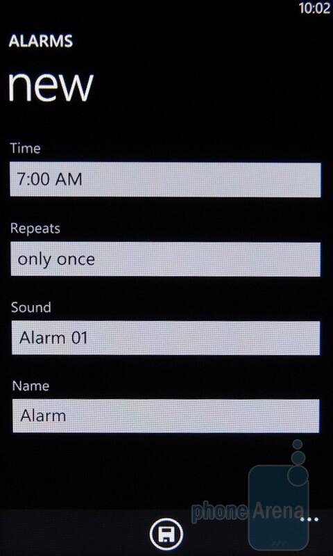 Alarms - Windows Phone 7 Walkthrough
