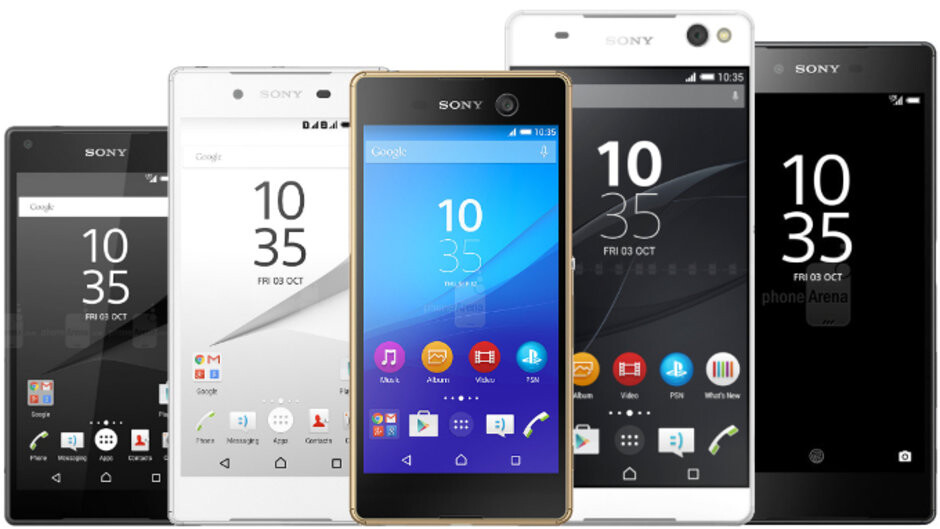 Look at that variety! - Why did Sony's smartphones lose their popularity?