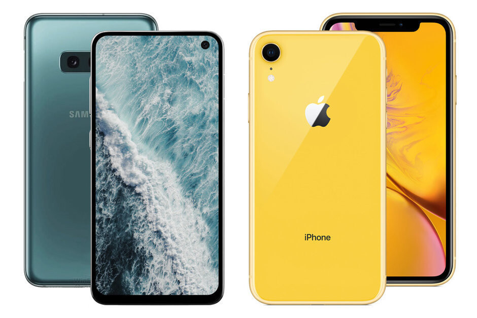"""The Samsung Galaxy S10e appears to be heavily inspired by the iPhone XR - Why the """"cheap"""" Galaxy S10e could be Samsung's most successful upcoming phone"""