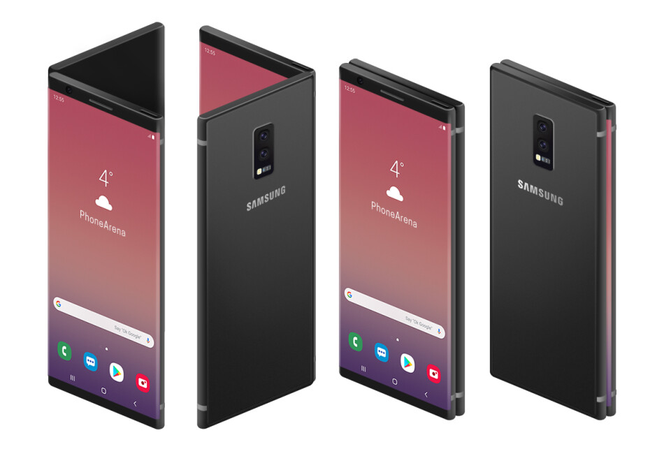 Samsung's foldable phone may not be what you're hoping for, here's what it could look like
