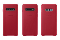 Galaxy-S10-leather-cover-red