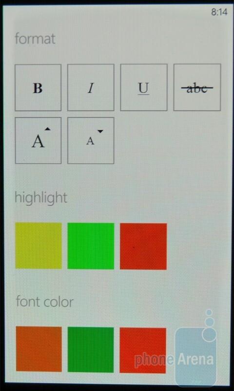 Word Mobile - Windows Phone 7 Walkthrough