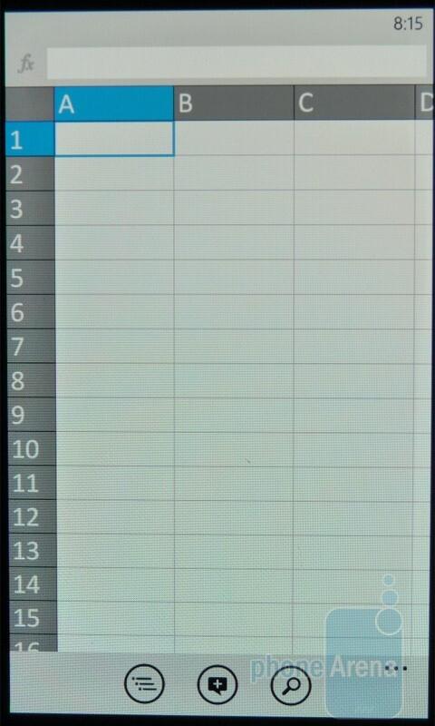 Excel - Windows Phone 7 Walkthrough