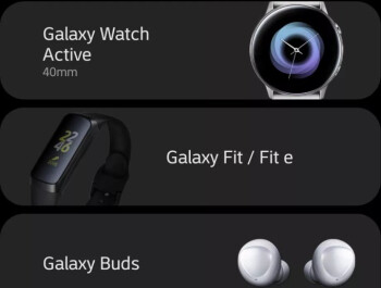 Samsung gets sloppy revealing all three wearables due for a release next week