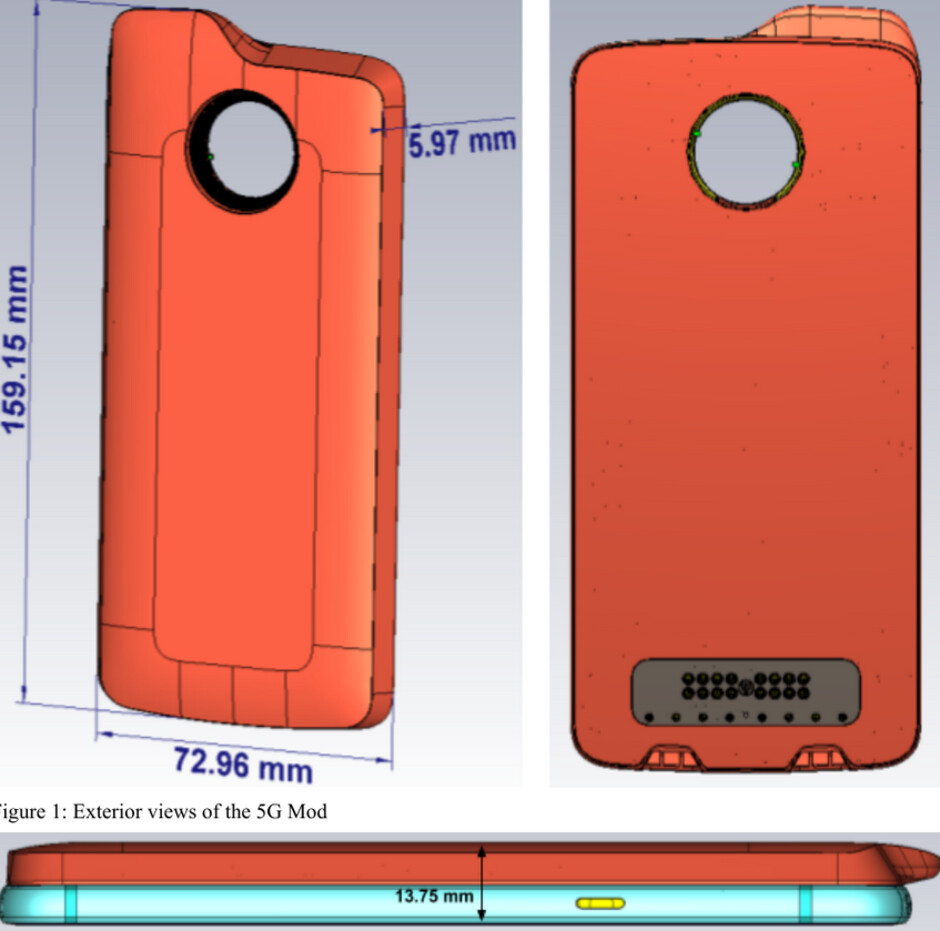 The 5G Moto Mod for the Moto Z3 is certified by the FCC - FCC visit reveals feature for the Moto Z3's 5G Moto Mod designed to protect users