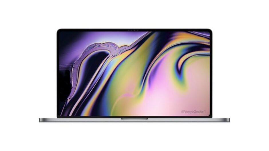 MacBook Pro 16-inch render courtesy of Venya Geskin - Massive leak details Apple's 2019 roadmap: New iPhones, iPad, Apple Watch, AirPods, MacBook, more